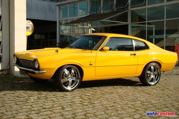 Ford Maverick 1978 V8 todo customizado