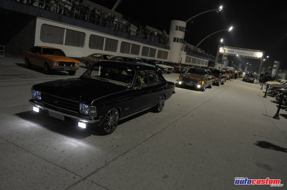 Noite do Opala 2010 no Auto Show Collection
