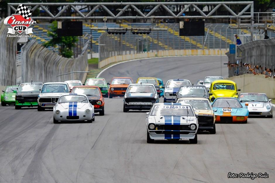 Classic Cup - Largada em Interlagos - Foto: Rodrigo Ruiz