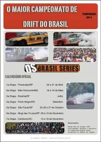 Calendário Drift 2013 - Campeonato DS Brasil Series