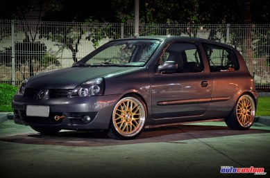 Renault Clio 2010 rebaixado