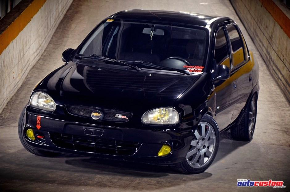 Corsa Classic 2008 aro 15, 470wrms de som e acessórios internos