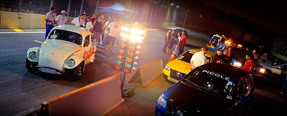 Treino Livre Interlagos Drag Race - Maio 2013 - Fusca e Gols Turbos