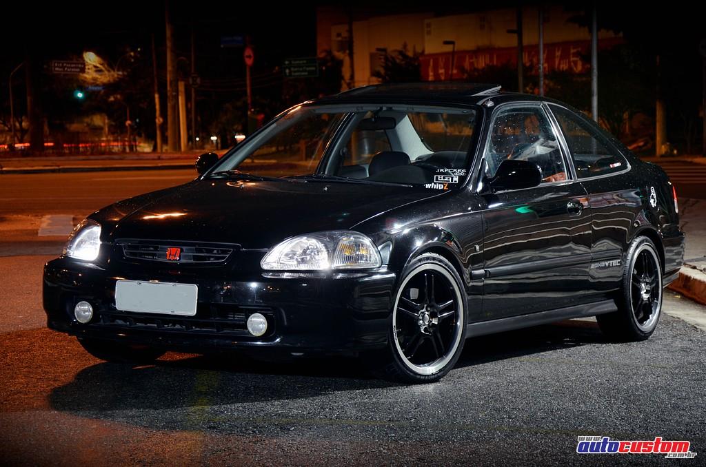 Honda Civic EX Coupe VTEC, Ano 1997, De U201cRubãou201d Da Cidade De São Paulo E  Parceiro Dos Clubes Japacars Club, JDMMotors E WhipZ. Customizações: Rodas  Aro 17 ...