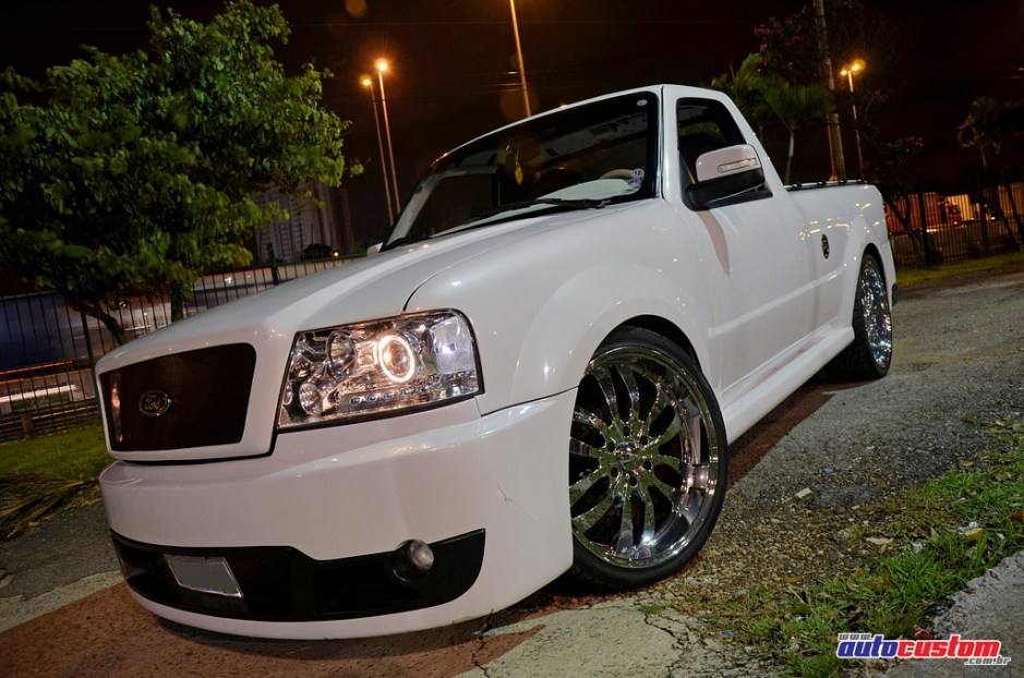 Ranger 1995 com body kit F-150