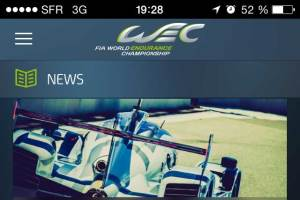 Aplicativo para acompanhar Mundial de Resistência da FIA