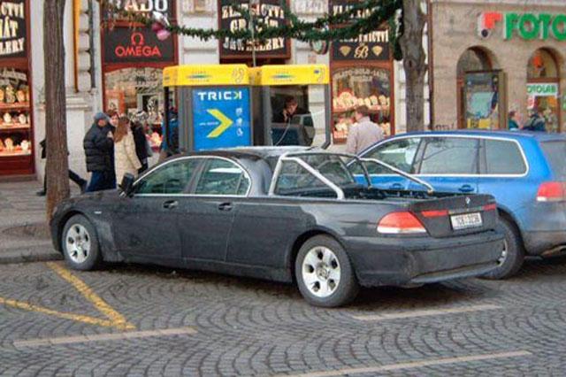 BMW bizarre pick-up