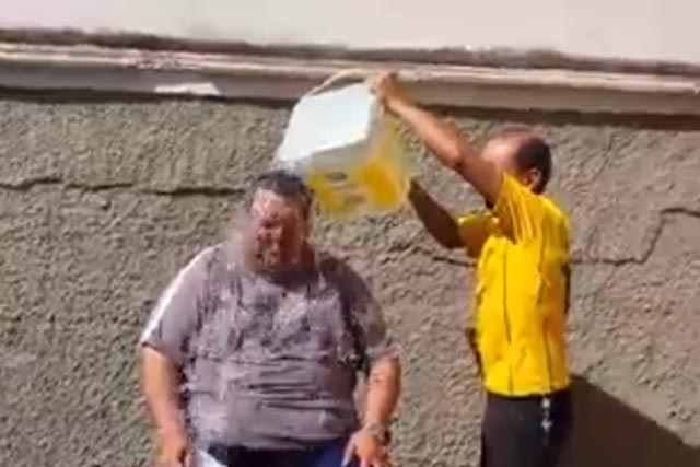 Ice Water Challenge no Brasil