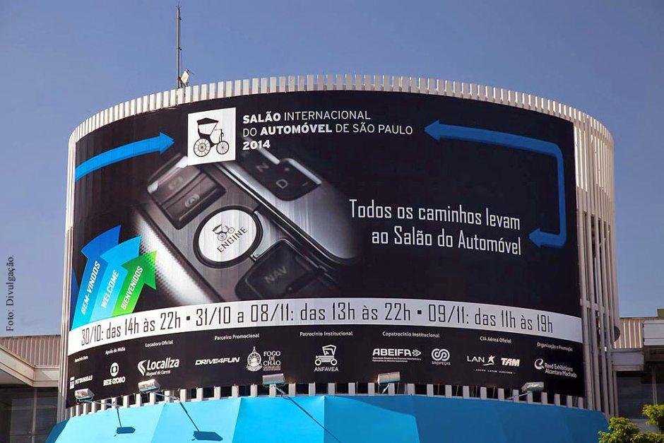 Salão do Automóvel de São Paulo 2014 - Carros conceitos e esportivos