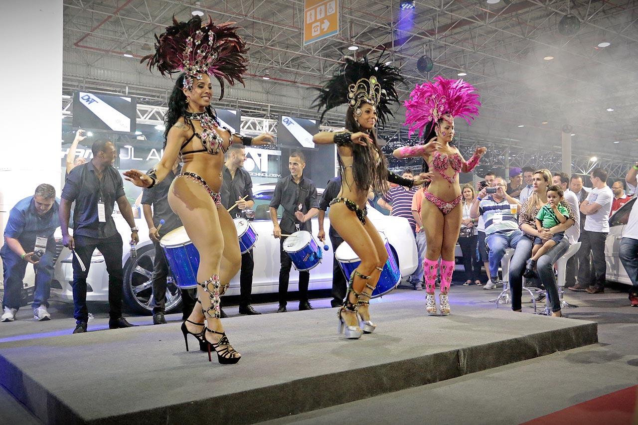 Garotas Auto Esporte Expo Show 2014