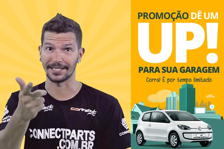 Sorteio Volkswagen UP - Connect Parts