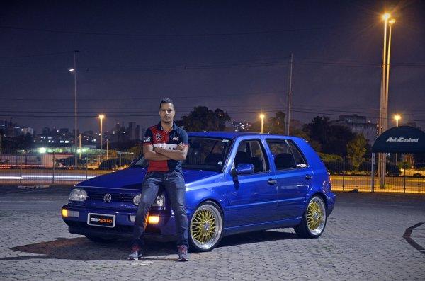 Golf GLX 1998 aro 18 e som qualidade - Adriano Rocha