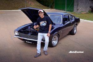 Maverick Luxo 1975 com motor V8 302 - Wellington Camilo
