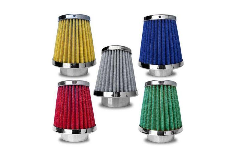 filtros-de-ar-esportivos-coloridos-conicos-altos-duplo-fluxo
