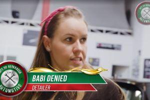Vídeo com Babi Denied sobre Estética Automotiva