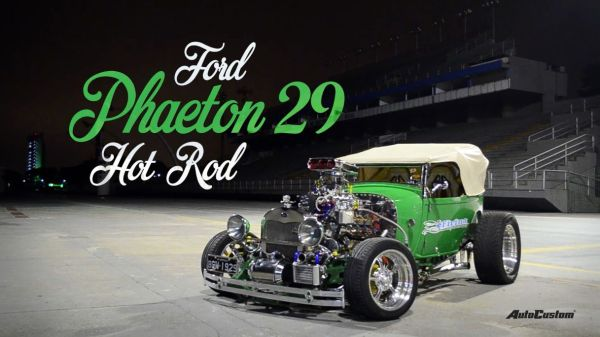 Vídeo Ford Phaeton 29 Hot Rod - Made in Brazil