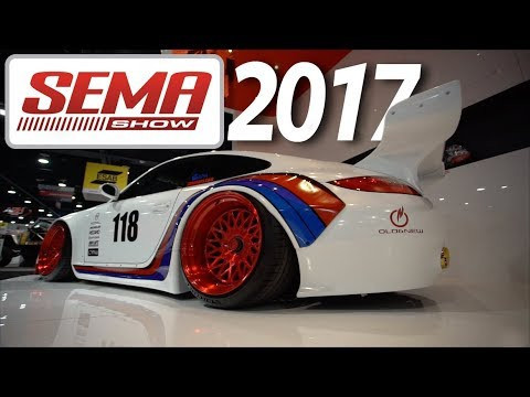Vídeo SEMA Show 2017 - O maior evento de carros modificados do mundo