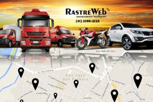 Rastreweb rastreamento de veículos.
