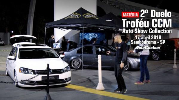 2º Duelo do Troféu CCM no Auto Show Collection 2018
