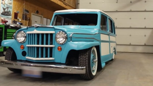Willys Station Wagon customizada Hot Rod