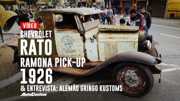 Chevrolet Ramona 1926 e entrevista com Alemão da Gringo Kustoms