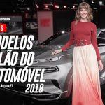 Fotos das Modelos no Salão do Automóvel 2018