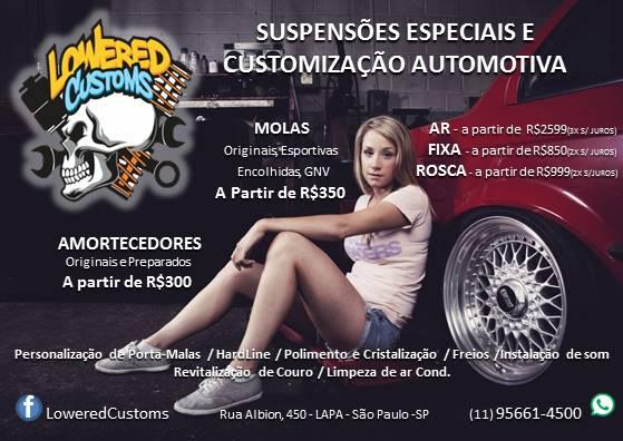 Suspensões Especiais e Customização Automotiva na Lapa SP