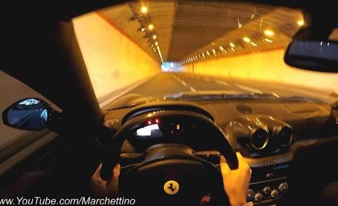 Un vídeo en primera persona del Ferrari 599