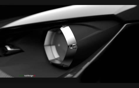 Italdesign difundió una nueva imagen del prototipo que llevará a Ginebra