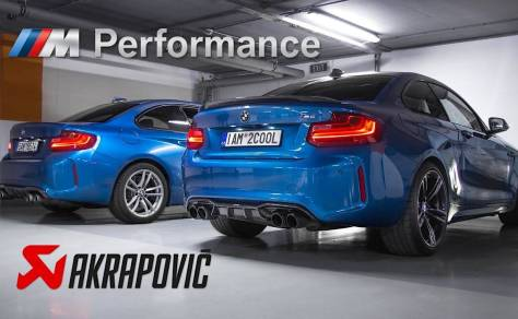 ¿BMW M2 con escape Akrapovič o M Performance?