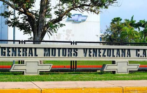 General Motors suspende operaciones en Venezuela tras el embargo de su planta de ensamblaje