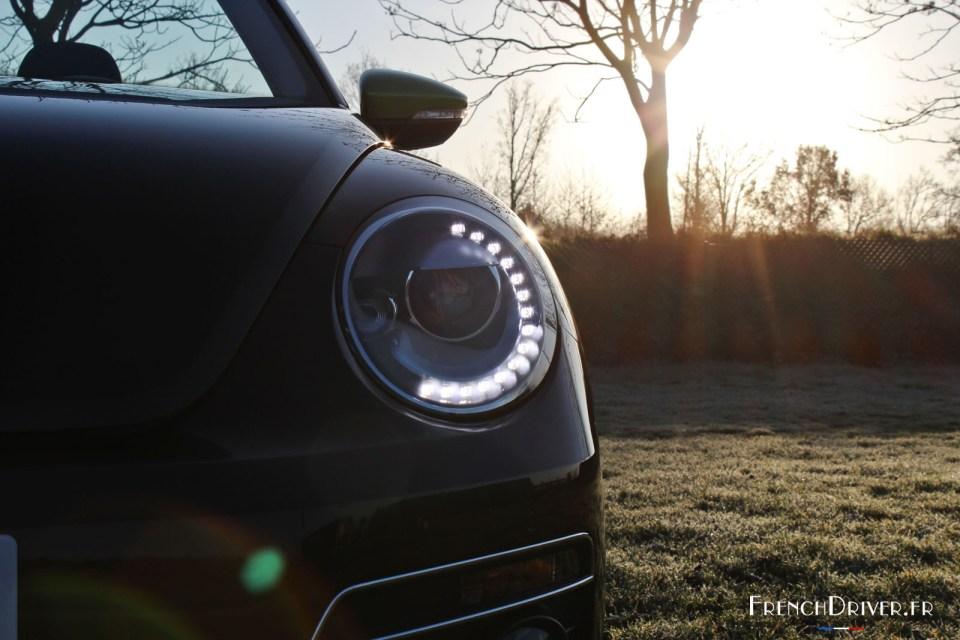 Photo projecteur Xénon DRL LED Volkswagen GT Cox Cabriolet (Dé