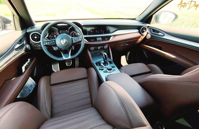 Alfa Romeo Stelvio MY20 ©Autoday