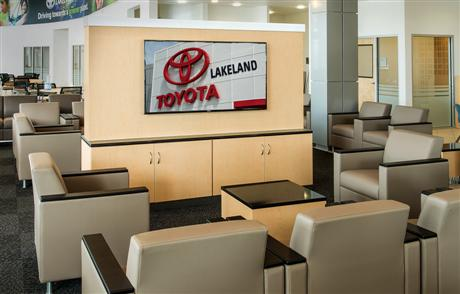 Toyota Customer Lounge Logo Car Black Crest Auto