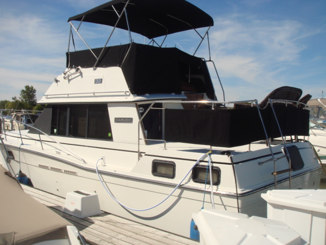 1987 Carver 32 Aft Cabin For Sale At WWW Boat Services Inc