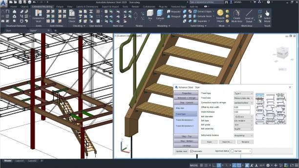 Image result for autodesk advance steel 2020