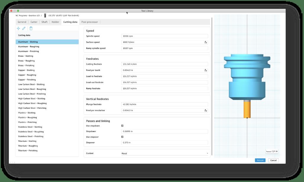 cutting-data