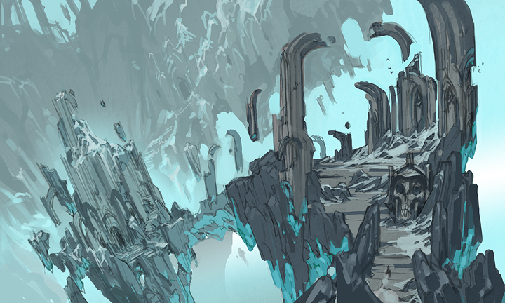 Darksiders Environments