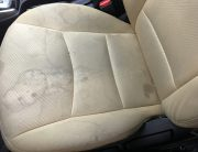 upholstery seat water stain