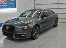 Grey Audi