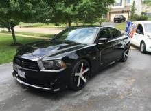 Black Dodge Charger