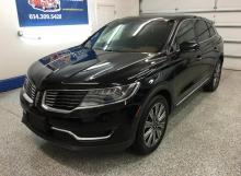 Black Lincoln MKX SUV