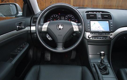 Acura Tsx Interior
