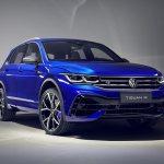 Volkswagen Tiguan Facelift Debuts With A 320 Hp Tiguan R Autodevot