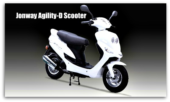 Jonway Agility-D Scooter