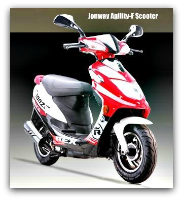 Jonway Agility-F Scooter