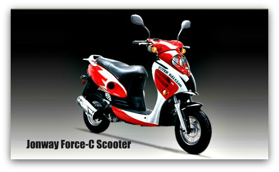 Jonway Force-C Scooter