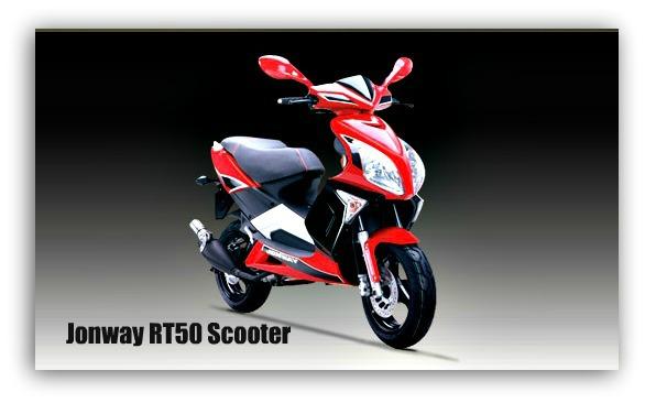 Jonway RT50 Scooter