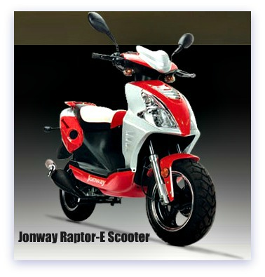 Jonway Raptor-E Scooter