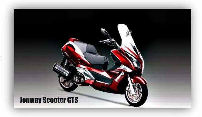 Jonway Scooter GTS
